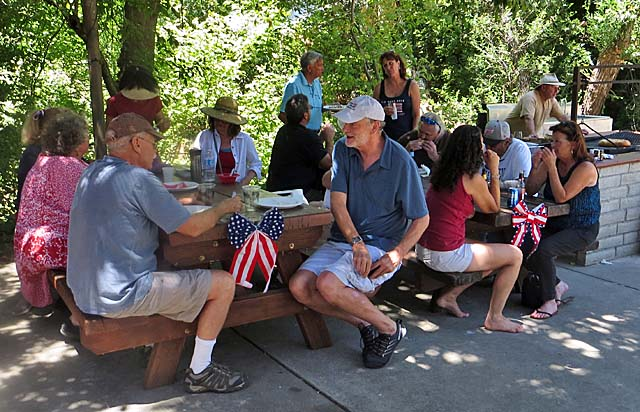 4th of July 2016 picnic at the New Amaden Community Center
