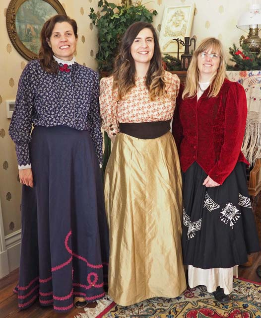 Interpretive staff at Living History Day, 12/15/19