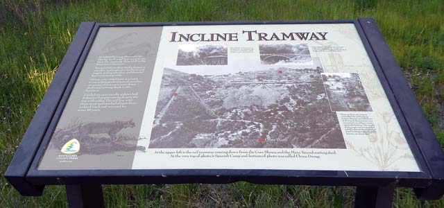 New incline tramway sign, 4/12/19