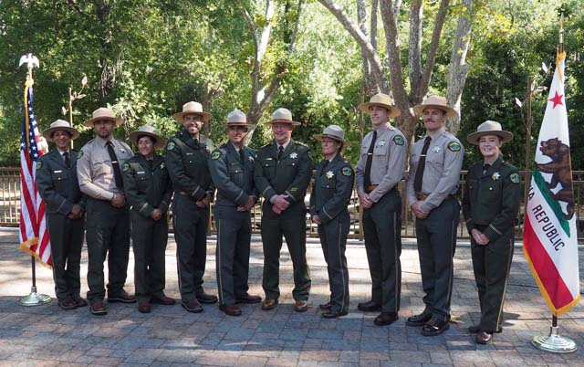 Ranger Promotion/Badging Ceremony, Casa Grande 9/30/19