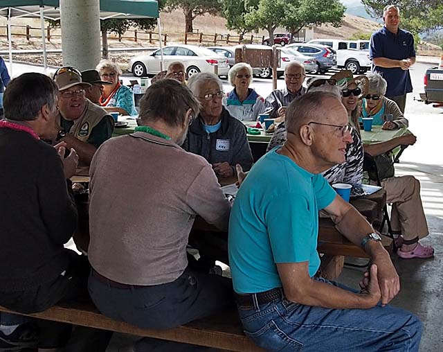 Volunteer Recognition BBQ, Santa Teresa Park, 10/17/15