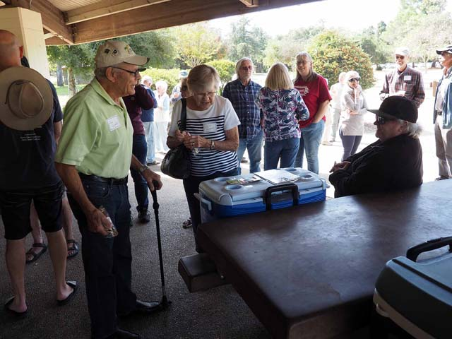 Volunteers Ice Cream Social, Vasona, 9/28/19