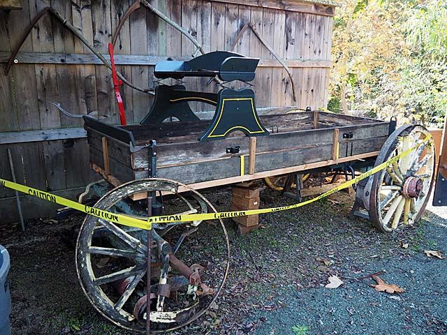 Historic wagon restoration, 12/15/19